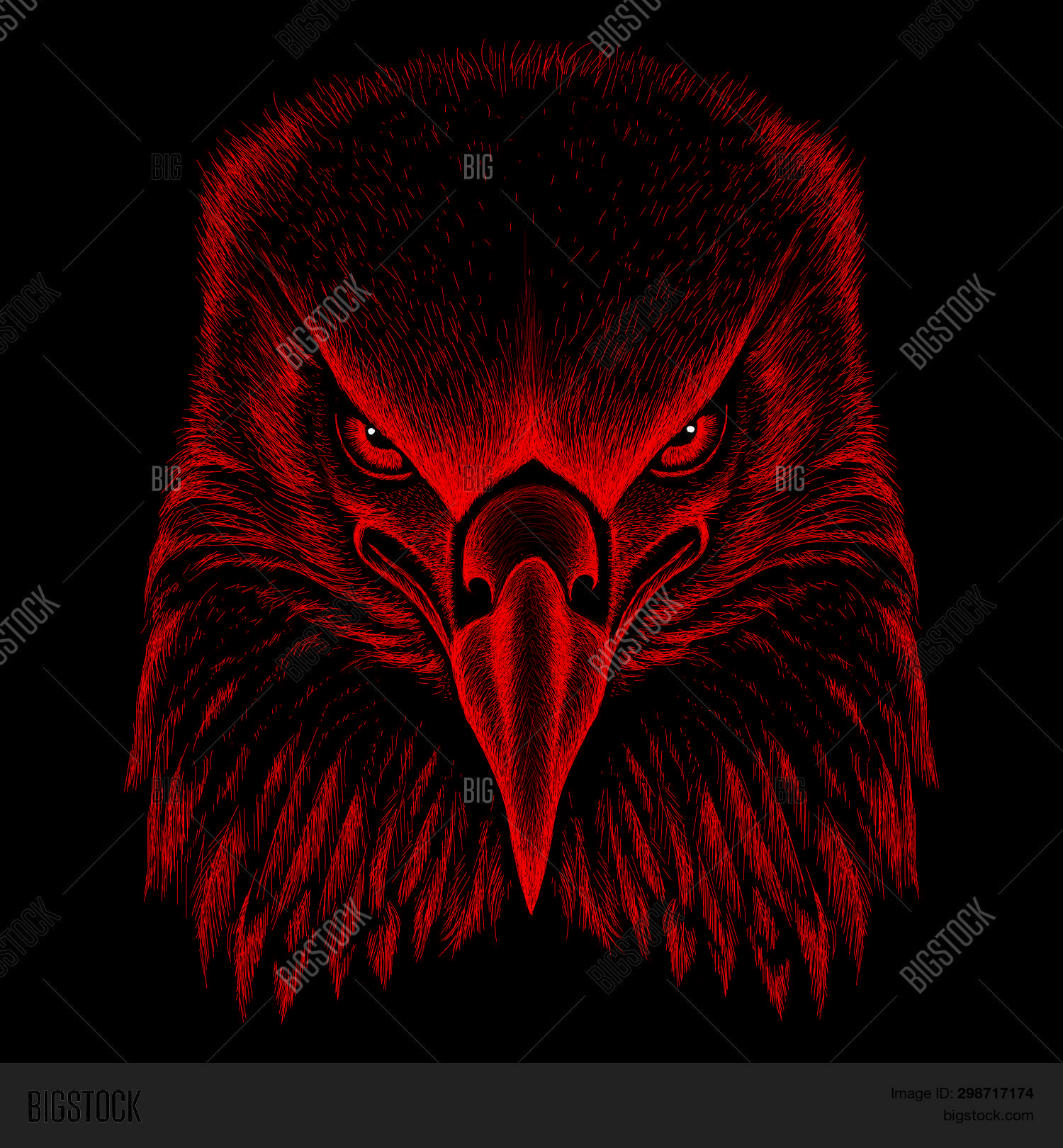 Logo Eagle Tattoo T Vector Photo Free Trial Bigstock