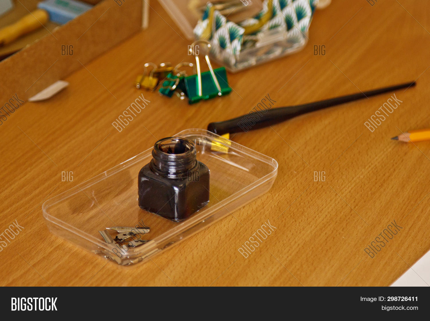 Inkwell Stationery On Image & Photo (Free Trial) | Bigstock on