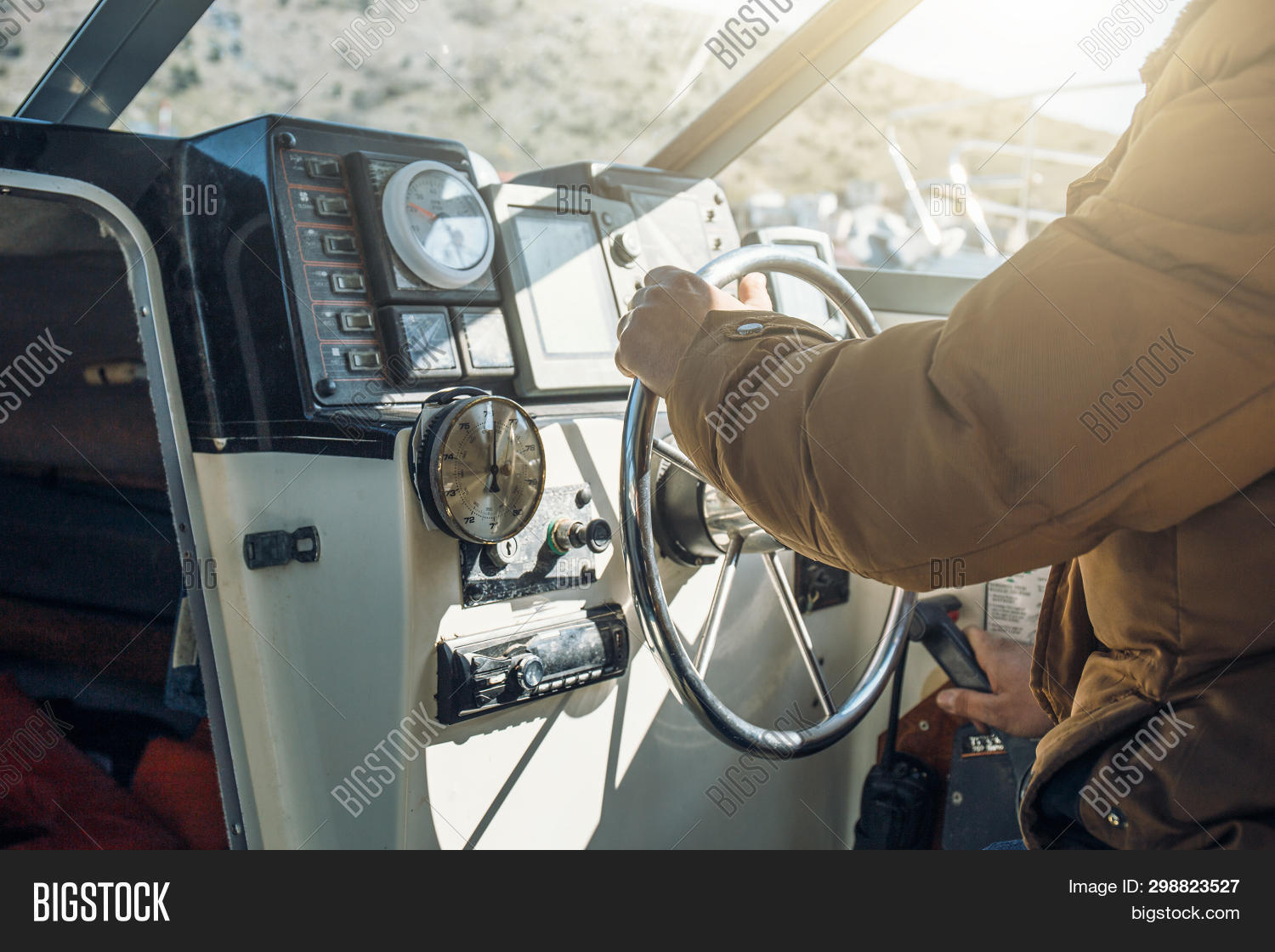 Boat Yacht Captain Image & Photo (Free Trial) | Bigstock