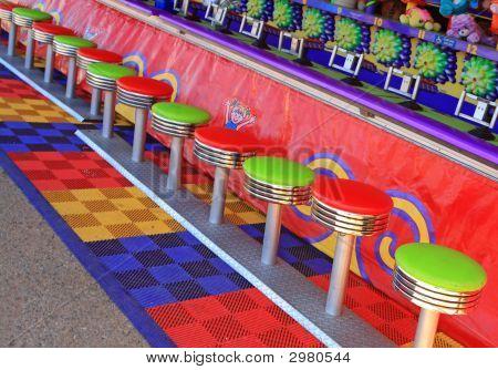 Amusement Park Stools