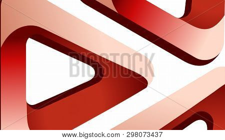Abstract Background Of Triangular Rounded Background With Color Gradients. Eps 10