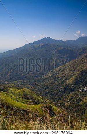 View From Little Adam's Peak, Sri Lanka.