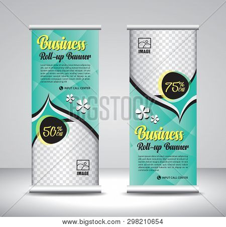 Roll Up Banner Template Design-29