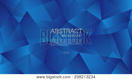 Polygonal Background Vector, Geometric Graphic, Minimal Texture, Cover Design, Flyer Template, Banne