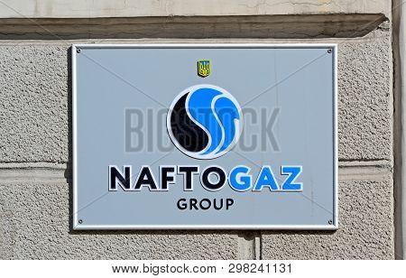 Kiev, Ukraine - Feb 21: New Rebranded Naftohaz Ghroup (formely Naftohaz Of Ukraine Aka Oil And Gas O
