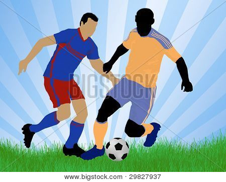 Soccer Player Attack
