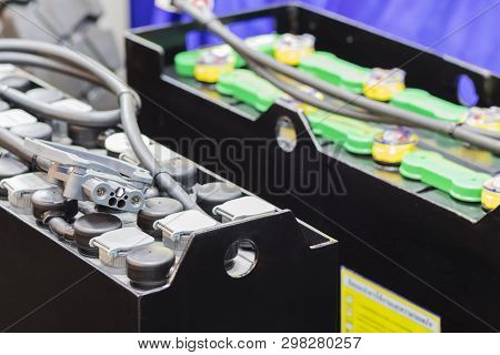 Industial Battery For Forklift / Vehecle / Automotive  ; Close Up