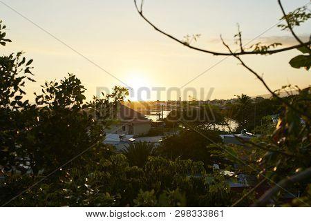 Terre-sainte Sunset, Saint-pierre, Reunion Island