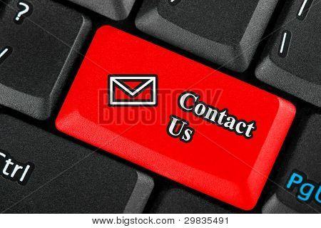 Contact Us Icon Button