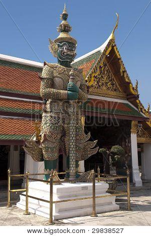 Daemon Statue