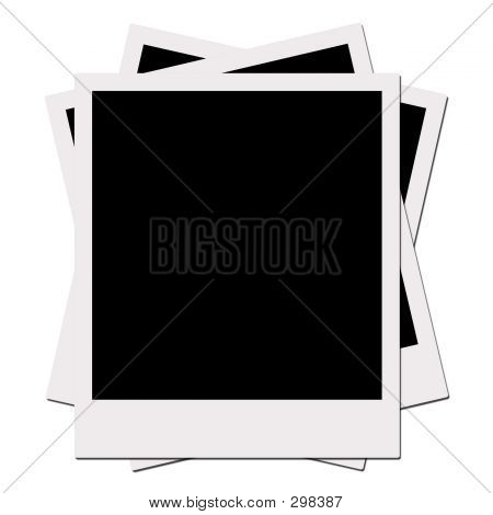 Films (with Clipping Path) Instant photo Instant Picture