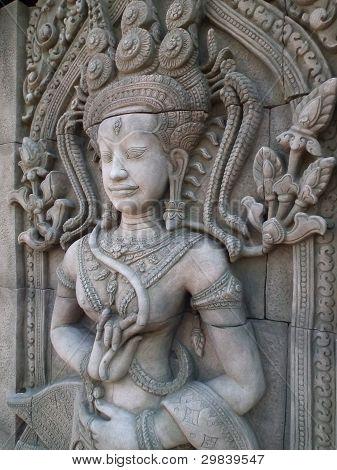 Welcome Antique Sculpture