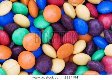 Candy sweets smarties