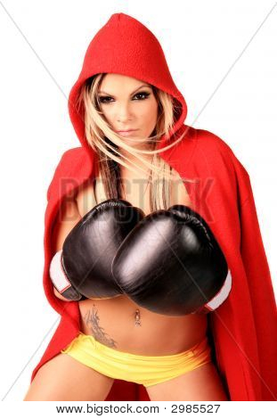 Sexy Fighter Girl