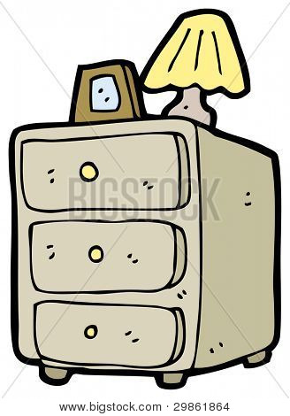 chest of drawers cartoon