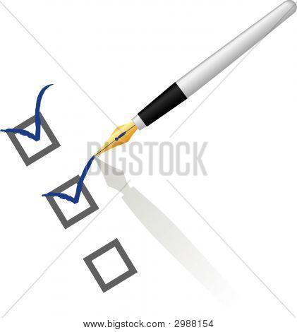 Pen Checking