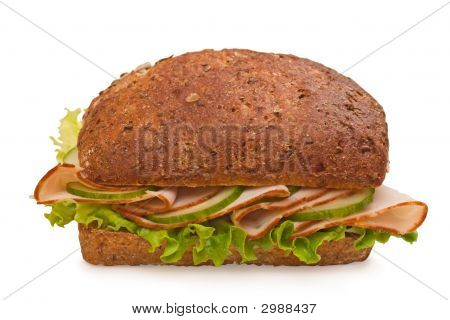 Fresh Multi-Grain Turkey Sandwich