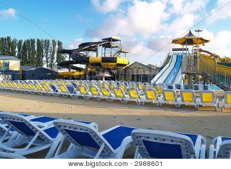 Empty Aquapark