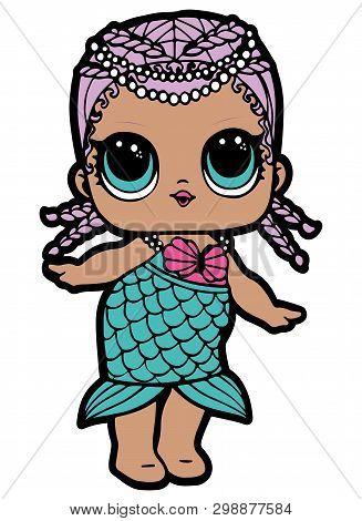 Lol Doll Design. Cute Baby Girl. Girl