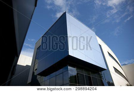 Huddersfield, West Yorkshire, Uk, October 2013, Richard Steinitz Building At The University Of Hudde