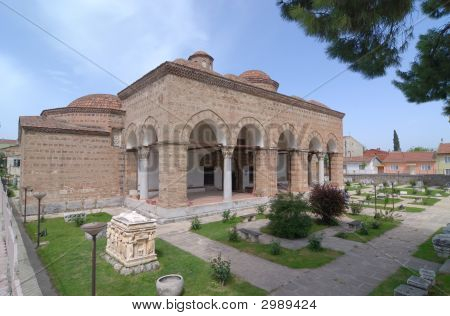 Old Ottoman Building, Built In 1388, Turkey