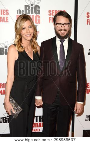 LOS ANGELES - MAY 1:  Anne Wheaton, Wil Wheaton at the