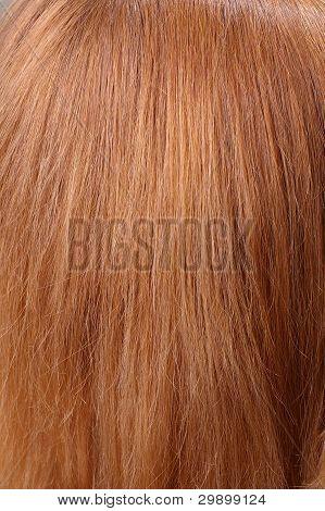 light chestnut hair
