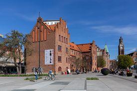 Malmo, Sweden - April 20, 2019: Exterior View Of Malmo Art Gallery