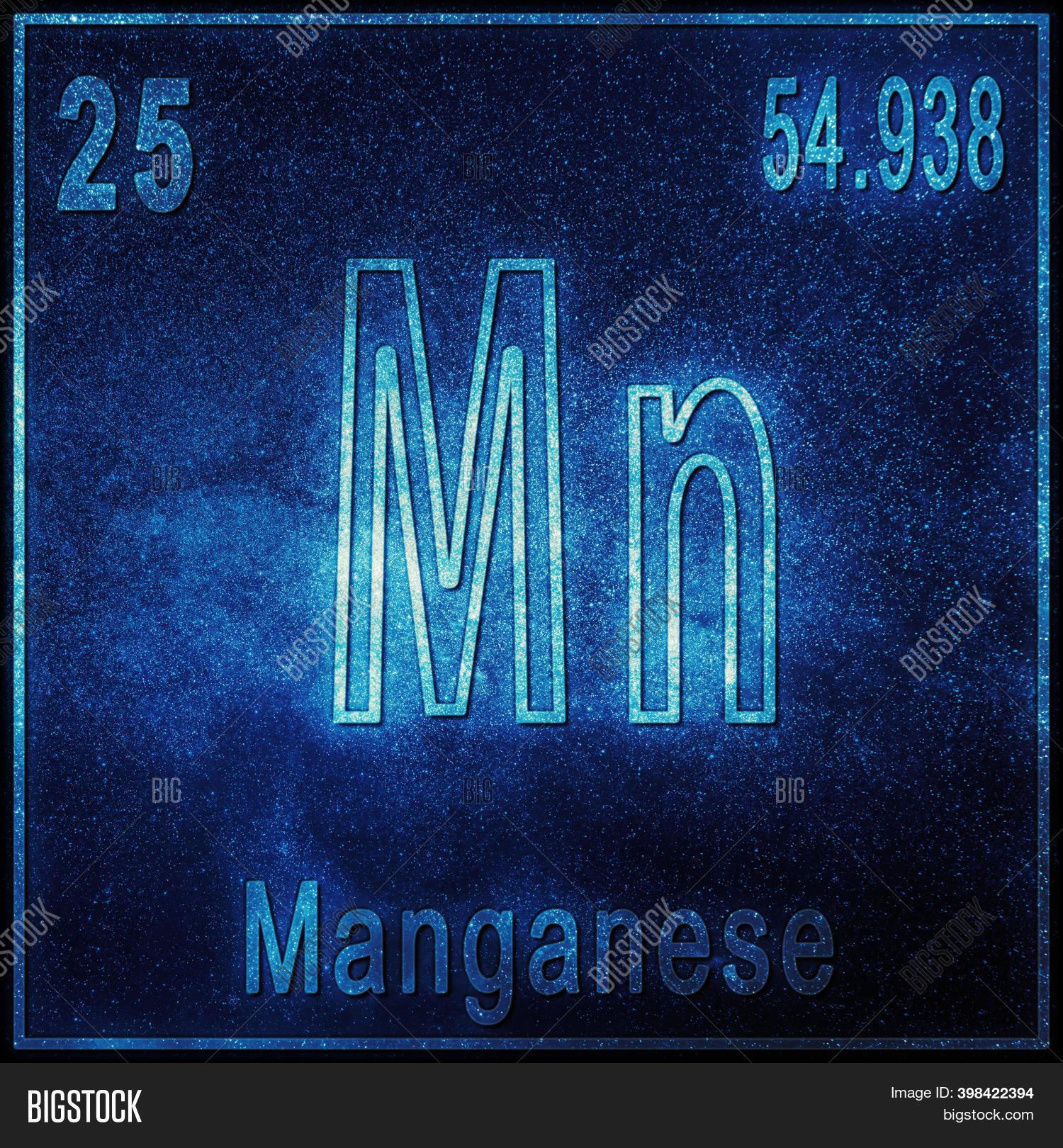 Atomic number for manganese dioxide