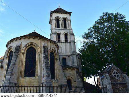Paris, France. August 12, 2019. Church Of Saint-pierre De Montmartre, Founding Place Of The Society