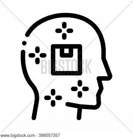 Satisfied Customer Black Icon Vector. Satisfied Customer Sign. Isolated Symbol Illustration