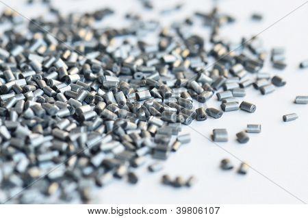 Silver Metallic Polymer