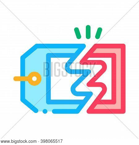 Discount Selling Price Color Icon Vector. Discount Selling Price Sign. Isolated Symbol Illustration