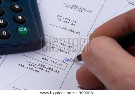 Balance Account Sheet