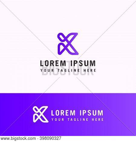 K Letter. K Monogram.modern Initial Letter K Logo Line Vector, Letter K Minimalist Logo Design