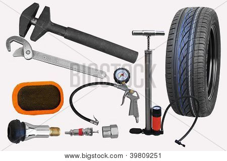 Tire repair tools