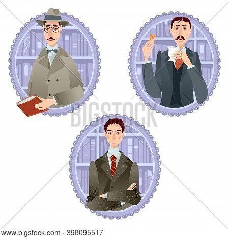 Fernando Pessoa (portugal), Franz Kafka (bohemia), Marcel Proust (france). Famous Literary Modernist