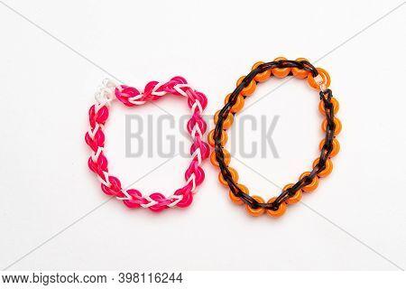Rainbow Loom Braclet Rubber Hobby Fun Color
