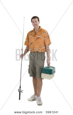 Man With Fishing Gear