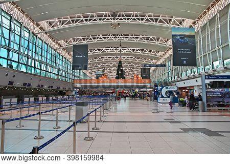 Buenos Aires, Argentina - 23 Dec 2019: Airport Of Buenos Aires, Argentina