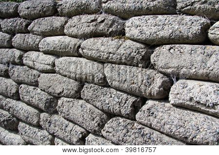 Gravel stone sacks