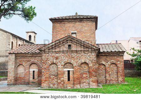 Galla Placidia Mausoleum In Ravenna