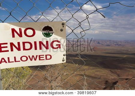No Ending Sign