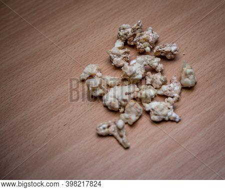 Rocks Of Drug On Table Top
