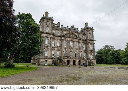 Banff, Scotland - August 9, 2019: Old Duff House Building With Collection Of Paintings In Banff, Abe