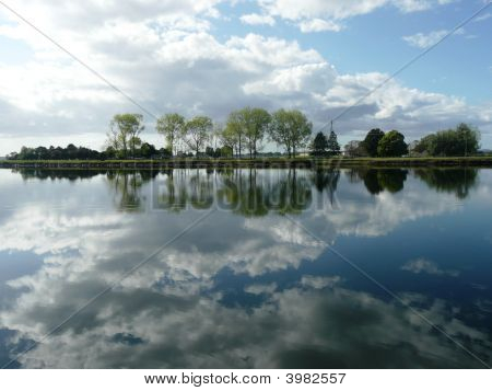 Reflections On The Macleay River.