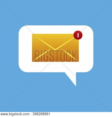 E Letter Mailbox Ic, Great Design For Any Purposes. Email Sign. Email Envelope Icon Vector Illustrat