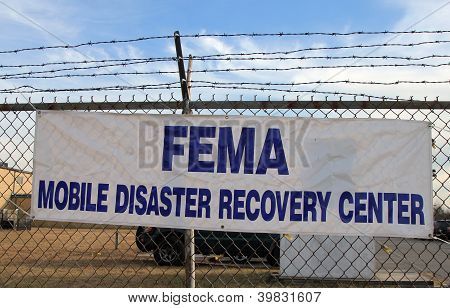 FEMA opens disaster recovery center in devastated area