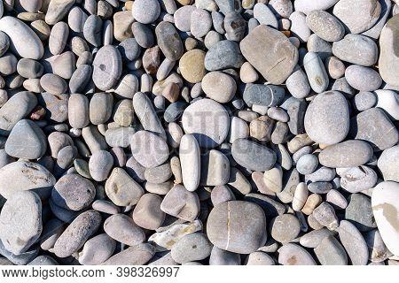 Stones Rocks Background Texture, Stones On The Beach