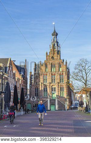 Culemborg, Netherlands - November 6, 2020: Cityhall Of Culemborg, Municipality In Gelderland In The